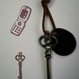 携帯電話と鍵